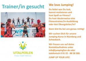 Jumping-Trainer gesucht